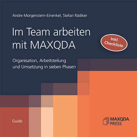 Im Team arbeiten mit MAXQDA