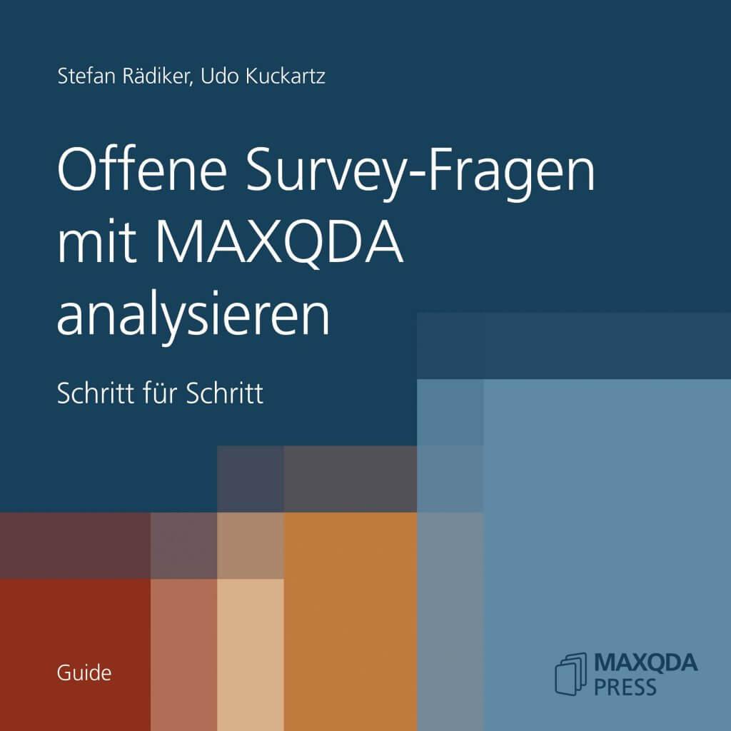 Offene Survey-Fragen mit MAXQDA analysieren